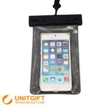 Hot sales custom print waterproof cell phone bag