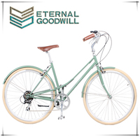 Cheap Steel Frame Folding Bike 7 Speed vintage Bicycle/Bikes from China GB 3061