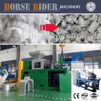 PE film squeezing machine PP film slice squeezing machine