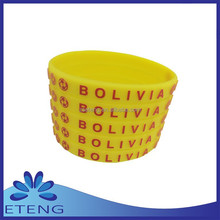 cutom hand wristbands with cute easter egg pattern for 2015 on alibaba express