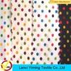 2015 Keqiao Textile Fabric High Quality Minky Dot Fabric