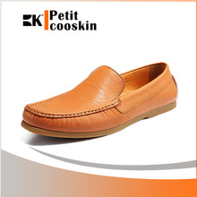 Men leather casual shoes driving leather loafer shoes fancy men dress shoes