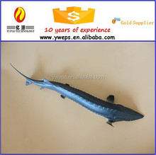 Hot sale realistic soft plastic fish toys for kids/artificial fish for decoration