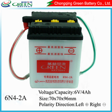 6v 4ah battery,self charge start ,mini motorcycle 49cc