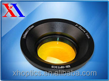 Precise 48/65mm diameter 10.6um CO2 F-theta scan lens