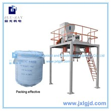 Jiangxi Blueray electrical drype type resin-oatmeal packing machine jumbo bag/packing machine/powder filling machine