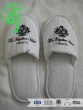 Pure white barthroom towel slipper summer /straw plaited article