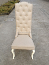 Elegant Tufted Buttons high back Dinning Chair