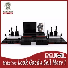 Quality Is Our Culture! MDF wooden / acrylic display watch stand for 12 watches