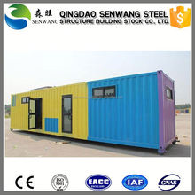 low cost prefabricated hotel container house