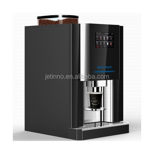 Es4c Bean To Cup Espresso Coffee Vending Machine Professional Table Top Horeca Fully Automatic