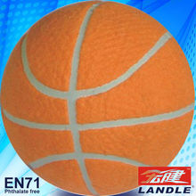 2013 Customized New Rubber made new style colorful mini US basketball