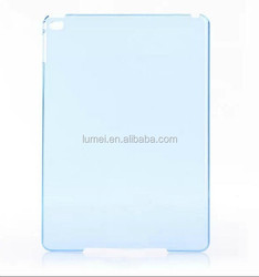 Top Sale Clear Hard Pc Back Tablet Gel Case Cover for iPad Air 2
