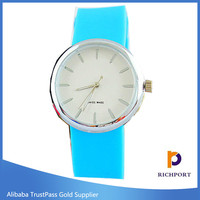 Fancy Colorful Women rubber wrist OEM/ODM Watches