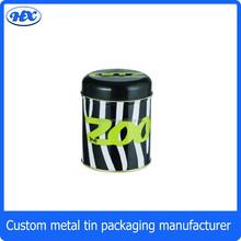 Round small /large empty aluminium/tin cans