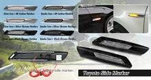 New 3D Carbon finishes led side marker for Reiz Crown Lexus led side marker for toyota