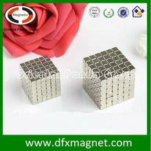 Rare earth neodymium cube magnet