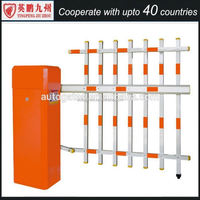 China Manufacturer Red Intelligent Automatic Road Boom Barrier Gate of Yingpeng