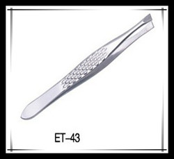 Beautiful Straight Cosmetic Products Silver Smart Tweezers For Eyebrow