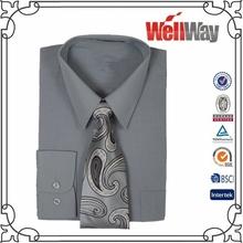 wholesale china 100% cotton brand name men formal shirts