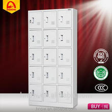 Colourful 15 doors steel cupboard design made in China