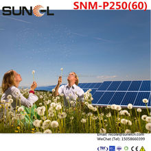240w cigs solar panel for industrial use