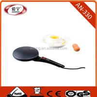 Corded Type and Die Casting Aluminum Material of Plate Crepe Maker With White Plate