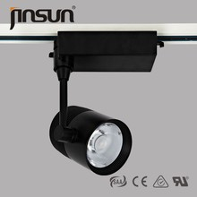 2015 most popular indoor lights 6063 aliminum 50000hours lifespan lens 25W gallery exhibition top quality led track light