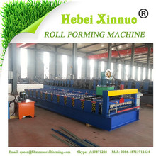 Russia type XN-C18 wall and roof roll forming machine metal roofing machine rollforming machine