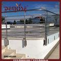 al aire libre de aceroinoxidable barandillas de los balcones