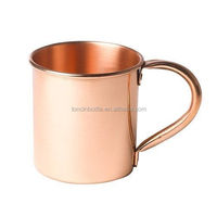 2016 new Moscow Mule Solid 100 % Pure Copper Unlined Mug, Moscow Mules 15 oz Pure Copper Mule Mug,pure copper travel coffee mug