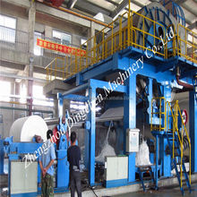 Dingchen machinery recycled paper,wood,bamboo,bagasse Cultural paper production line