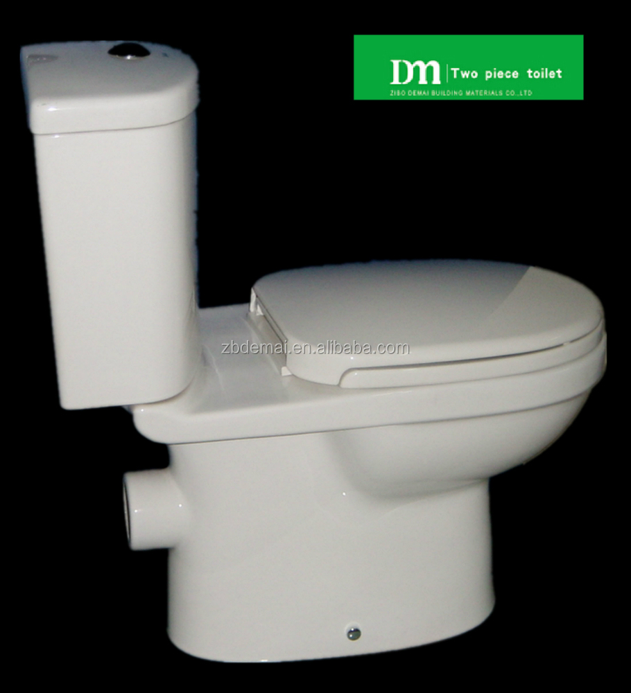 Dmt 76c Sanitary Ware Two Pieces Toilet P Trap Good