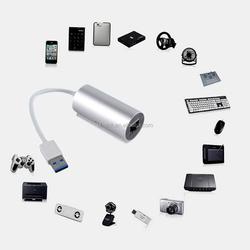 New arrival! Unibody Aluminm USB 3.0 to RJ45 Gigabit Ethernet LAN Network Adapter