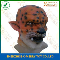X-MERRY leopard overhead dotted monster mask Halloween funny Latex Mask Journey to the West Wonder fiction characters