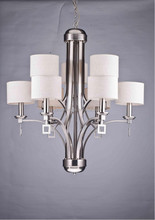 Iron and Fabric material UL&CE approved hanging Chandelier lamp