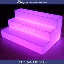 glowing PE led bottle display for bar or club use