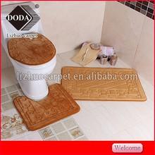 Factory Direct Sales100%Polyester Machine Washable Nonslip Memory Foam Bath Mat/Bath Rug