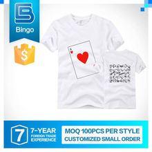 Elegant Top Quality Humanized Design Customized Cheap White T Shirt