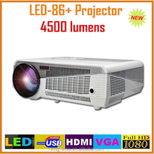 Native 1080p full hd 3d led projector,movie theater proyector 3 lcd display video projector low noise with HDMI/USB