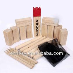 2012 Top Hot Wooden Kubb