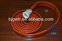 Flame Retardant Silicone Rubber Extruded Fiberglass Sleeving