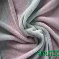 100% polyester printed flannel fabric