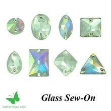 Glass Sew-on Beads