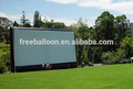 Baratos tela de cinema inflável, telas de publicidade para venda