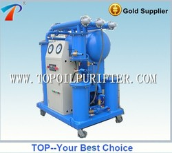 Used transformer oil purification machine,degasification, dehydration,impurities removal,easy to use,portable,economical
