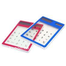 Transparent Touch Pad Desktop Calculator