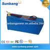High quality portable 24V 100Ah battery pack for Solar Power Storage