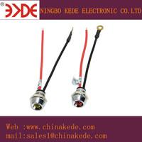 220 volt LED Indicator lights Oven pilot lamp 11mm mounting panel hole