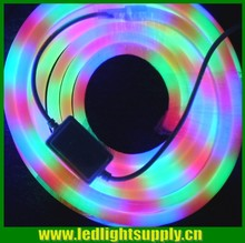 Long lifespan 14*26mm PVC base edge chasing RGB neon flex led tube CE UL listed